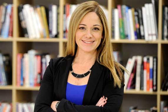 Marie-Ève Chamberland, PDG d'Un cadeau du ciel (Photo: Stevens LeBlanc)