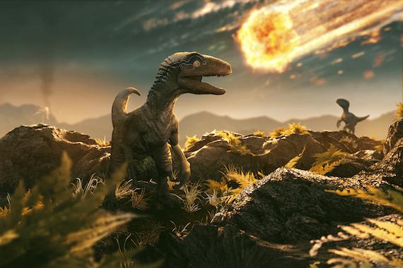 Une comète a causé l'extinction des dinosaures il y a 66 millions d'années. (Illustration: 123RF)